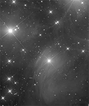 """Звёздное скопление """"Плеяды"""" М45"""